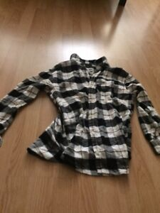 Plaid Old Navy youth XL