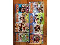 17 Bash Street Kids annuals and Beano annuals