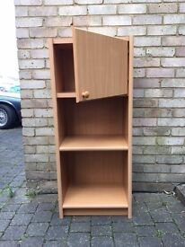small cupboard , shelve unit ( size 4ft High x 1and haft foot width