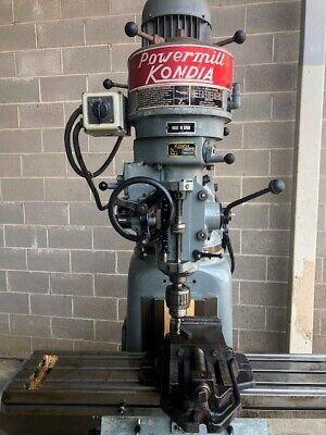 Kondia Model G Milling Machine