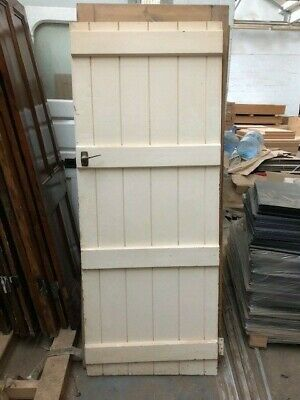 Solid Pine tongue and groove Cottage /  Barn Door 186 cm 74 cm  SEND OFFERS
