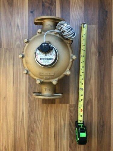 "Sensus SR Gallons Water Meter Flanged 1-1/2"""