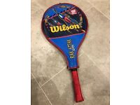 "WILSON RAK ATTAK 25"" TENNIS RACKET WITH CASE (LIGHTWEIGHT)"