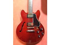 Gibson ES339 Memphis (2014) Gloss Cherry semi-acoustic guitar