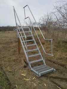 Scaffolding stairs