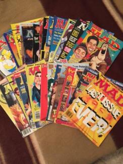 Selection of MAD and Cracked Magazines