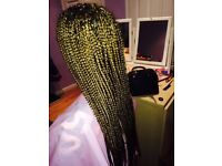 Afro and European Mobile Hairdresser, Cornrows, Box Braids, Twists and More