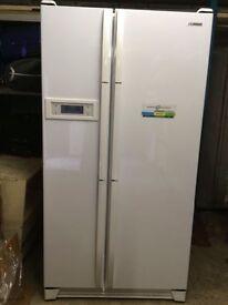 White American fridge freezer