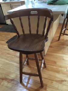 2 High Chair/Bar Chair-$100
