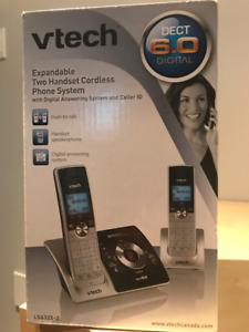 Brand new cordless phone with digital answering system for sale