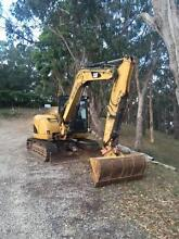 CAT 308D Excavator (8 tonne) Uraidla Adelaide Hills Preview