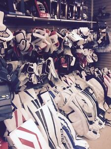 Goalie Heaven at Rebound!!!