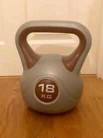 18kg Vinyl kettle bell