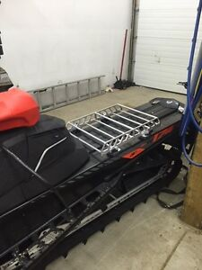ski doo XM LinQ tunnel cargo fuel tunnel rack