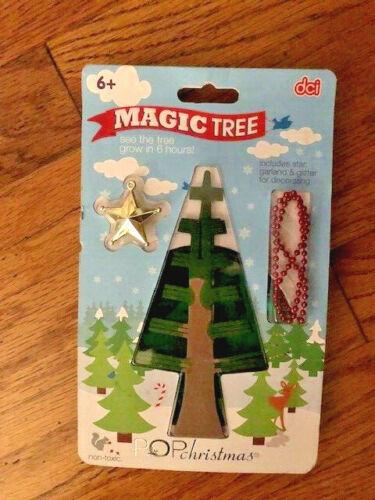 NIP MAGIC CHRISTMAS TREE KIT NON TOXIC