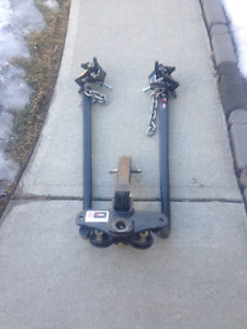 eaz lift weight distributing hitch with adjustable ball mount