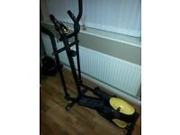 Everlast crosstrainer excellent cond.