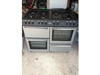 duel fuel Belling range cooker