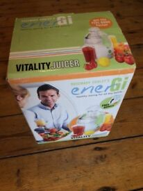 EnerGi Nutri Juicer - Boxed Unused