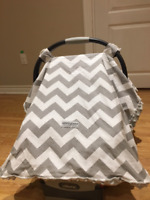 Carseat Canopy - Car Seat Canopy - Slightly Used