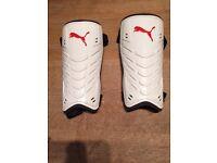 Puma hockey shin pads, size Large