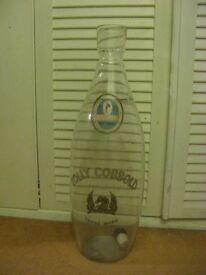 Brewery Tolly Cobbold glass serving bottle