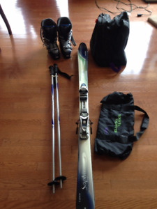 FULL DOWN HILL ROSSIGNOL SKI PACKAGE, NEW