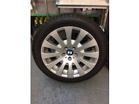 BMW 6 SERIES WHEELS AND SNOW TYRES 245/45 X 18 run flats - PRICE REDUCED