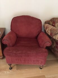 2 Duresta arm chairs for sale
