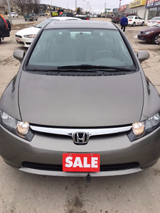 2008 Honda Civic LX with Sun Roof Brand New Safety