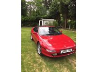 Toyota MR2 MkII T-Bar in Red