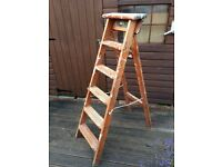 Bratts 6 step Wooden Step Ladder