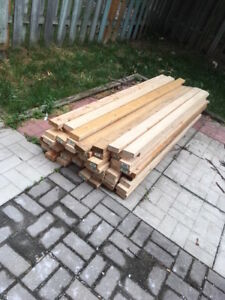 2 x 4's for sale