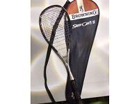 Squash Racket including case