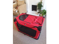 Barely Used Very Large pet Carrier/Enclosure