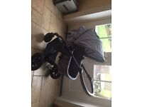 KinderKraft Travel System excellent condition only used a couple of times as a second pram