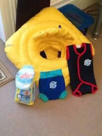Swimming baby bundle