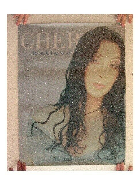 Cher Poster Old Believe Blue
