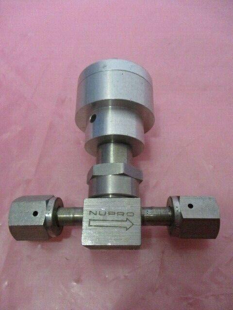 Swagelok SS-4BK-V51-10 Isolation Valve, Bellows, Pneumatic, Nupro, 451166