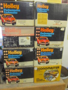 NOS Vintage Holley. NEW Holley Carbs and Engine Camshafts
