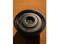 Sony Zeiss 35mm 2,8