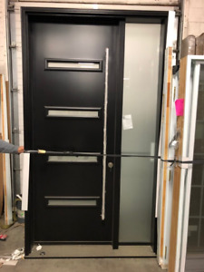 Entry Door System with locks and sidelite