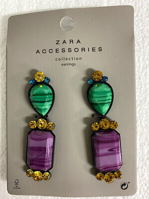 Zara Accessories Collection EARRINGS 1856/015/050 - Brand New