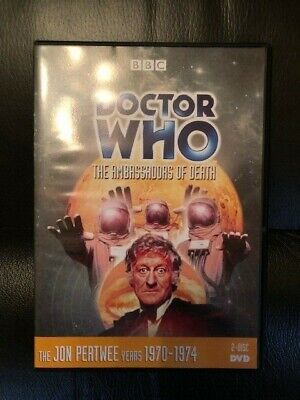 Doctor Who: Episode 53 - Ambassadors of Death (DVD, 2012, 2-Disc Set)