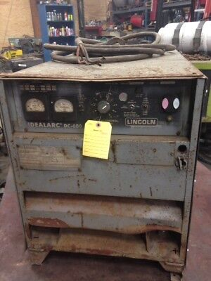 Lincoln Idealarc Dc-600 Arc Welder Power Source 600a Cvcc Dc