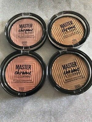 - (1) Maybelline Master Chrome Metallic Highlighter, You Choose