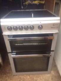 £120.20 Milano greyceramic electric cooker+60cm+3 months warranty for £120.20