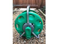 Hozelock 15 metre garden hose on reel - Collection only