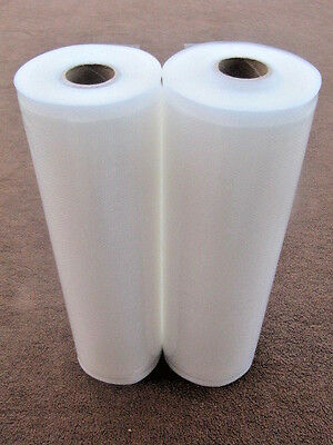 "TWO Rolls 11"" x 50' Food Magic Seal for Vacuum Sealer Storage Bags!!"