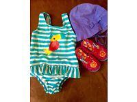 12-18 months girls summer - autumn clothing bundle